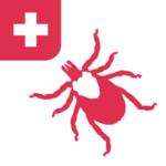 """L' application pour iOS et Android """"Tique"""", est développée par la Haute école Zurichoise des sciences, dispose de la carte des zones à risque qui indique le risque actuel de piqûre de tique en Suisse."""
